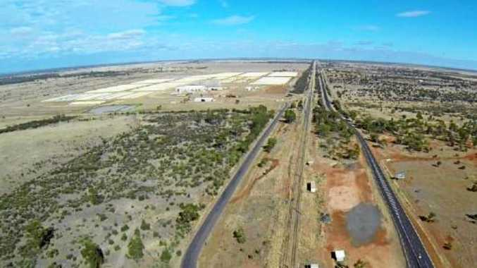 CQ Inland Port at Yamala near Emerald.