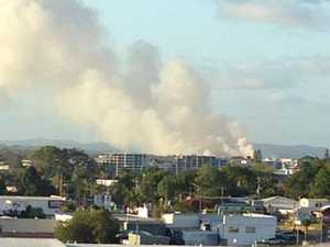 Smoke billowing over Twin Waters explained