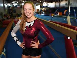 gymnast Brittney Milton