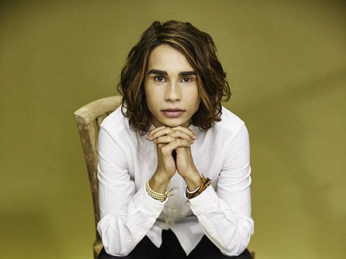 The X Factor winner Isaiah Firebrace.
