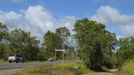 Nine Mile Creek Rd, north of Mackay off the Bruce Hwy.