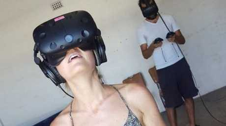 SNEAK PEEK: Virtual reality technology is no longer a futuristic ideal; two Ipswich entrepreneurs are setting up Queensland's first virtual reality arcade these school holidays.