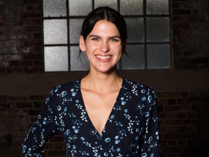 Byron's Sabine Jamieson was a finalist on Australia's Next Top Model.