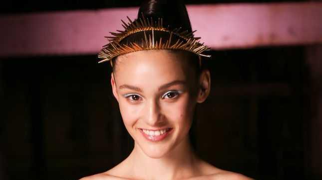Australia's Next Top Model finalist Aleyna FitzGerald.