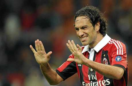 Legendary AC Milan and Italy defender Alessandro Nesta.