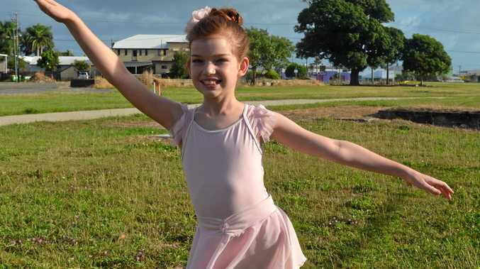 Mackay dancer Isabella Huston is on her way to ballet stardom.