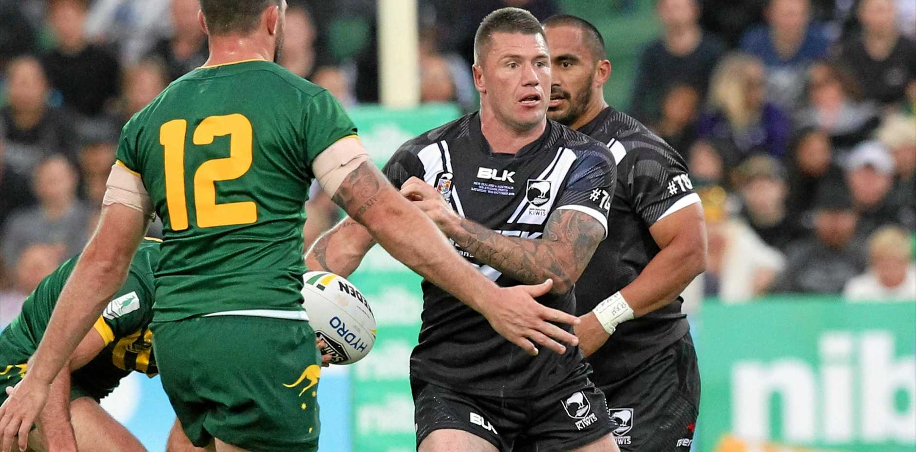 Shaun Kenny-Dowall of the Kiwis failed to repay his coach's faith in him.
