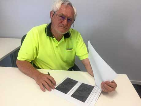 Central Queensland Seismology Research Group leader Mike Turnbull.