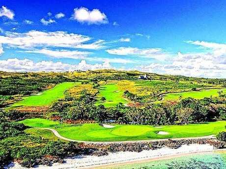 Natadola Bay Championship Golf Course, Fiji.