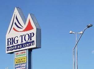 The Big Top Shopping Centre.