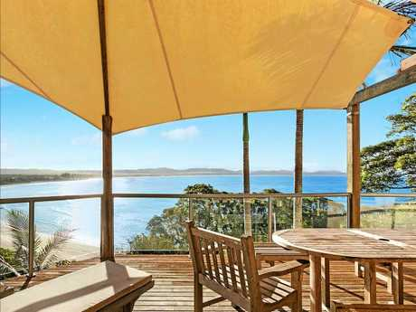 Multi-million dollar views on Lighthouse Road, Byron Bay.