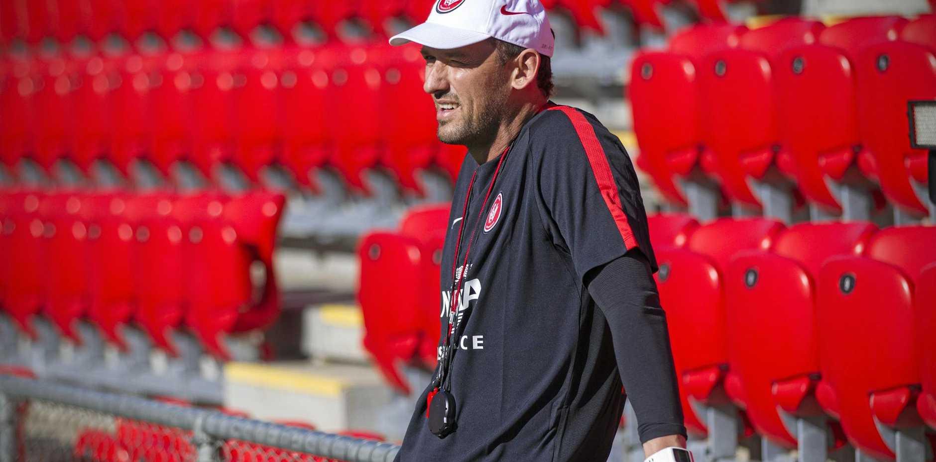 Western Sydney Wanderers head coach Tony Popovic.