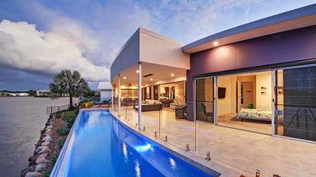 This luxury Twin Waters home rents out over Christmas for more than $6000 a week.