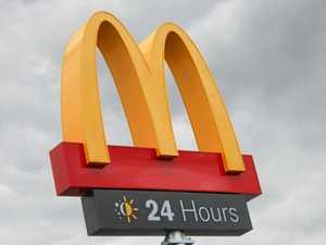 Customer throws meal through Warwick McDonalds window