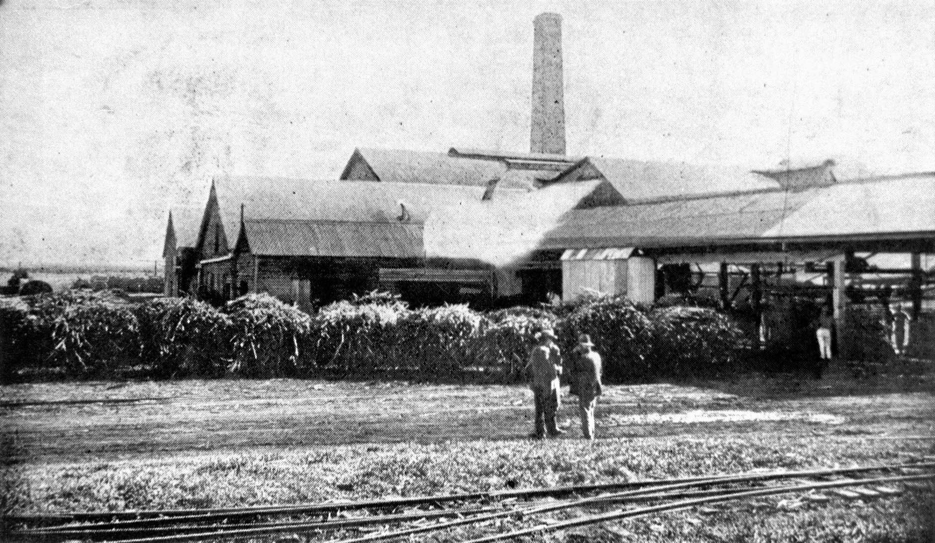 HISTORY: Qunaba Mill, circa 1928, was established by Augustus Barton in 1884 and originally called Mon Repos Mill.