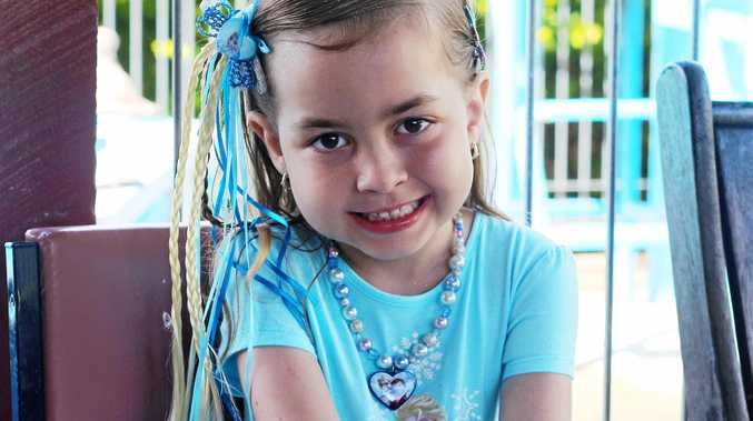SWEET MEMORIES: Miami-Lee at her Frozen themed sixth birthday party.