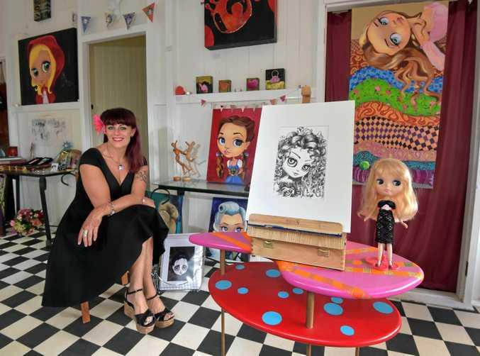 Sunshine Coast artist de Shan has created 100 Drawings in 100 Days.