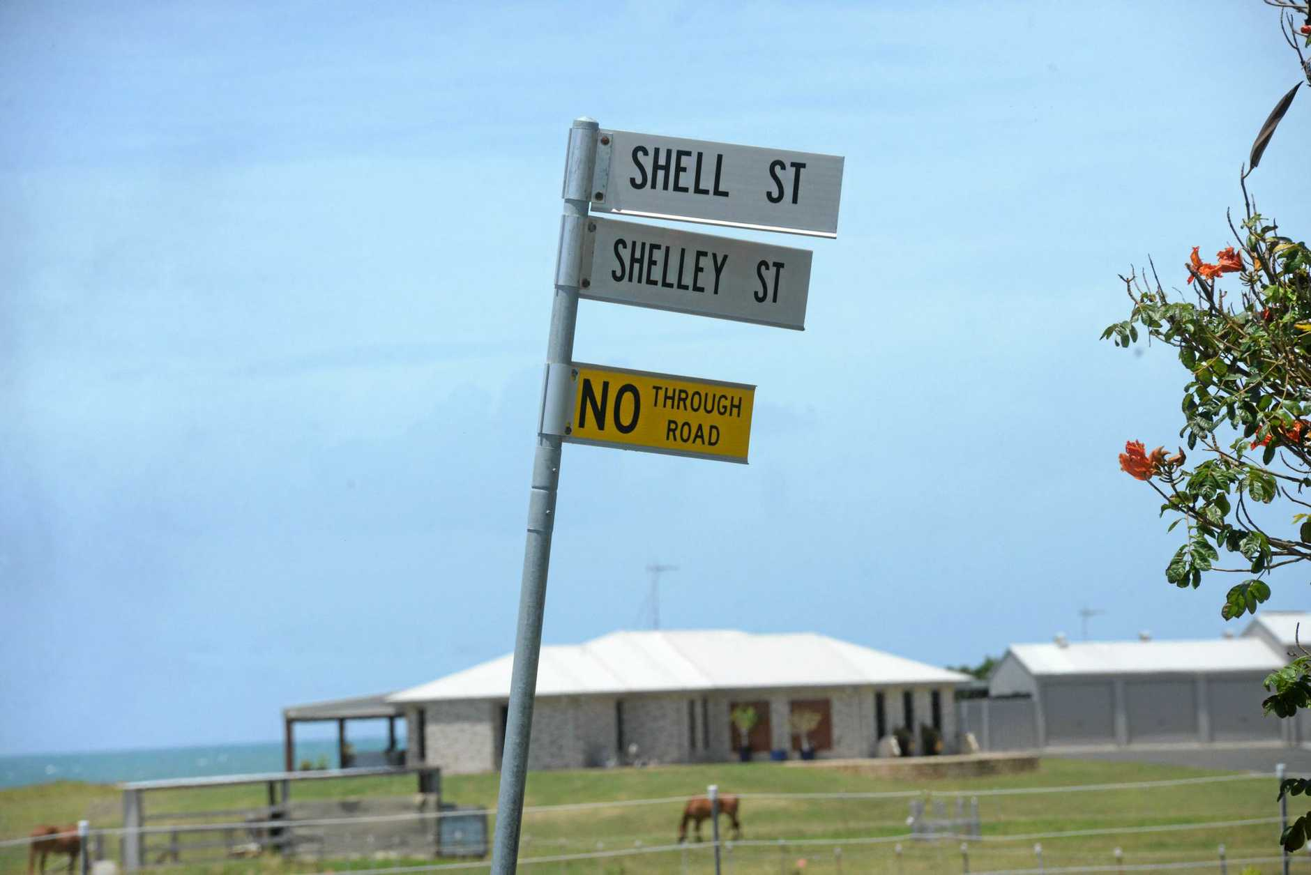 EPICENTRE: Shelley St at Burnett Heads has been the centre of controversy.