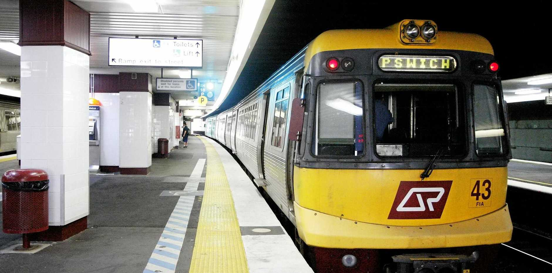 SHUTDOWN: Trains won't run on the Ipswich-Rosewood line again this weekend.