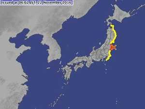 6.9 magnitude quake has hit off the coast of Fukushima