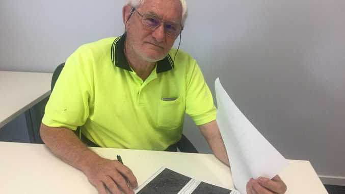 SHAKE UP: Central Queensland Seismology Research Group leader Mike Turnbull believes more funding needs to go in to earthquake research before a disaster happens near Bundaberg.