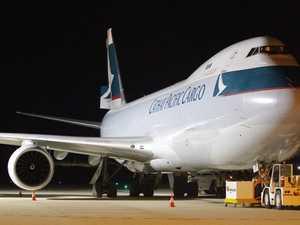 Hong Kong freight flights open Toowoomba to world