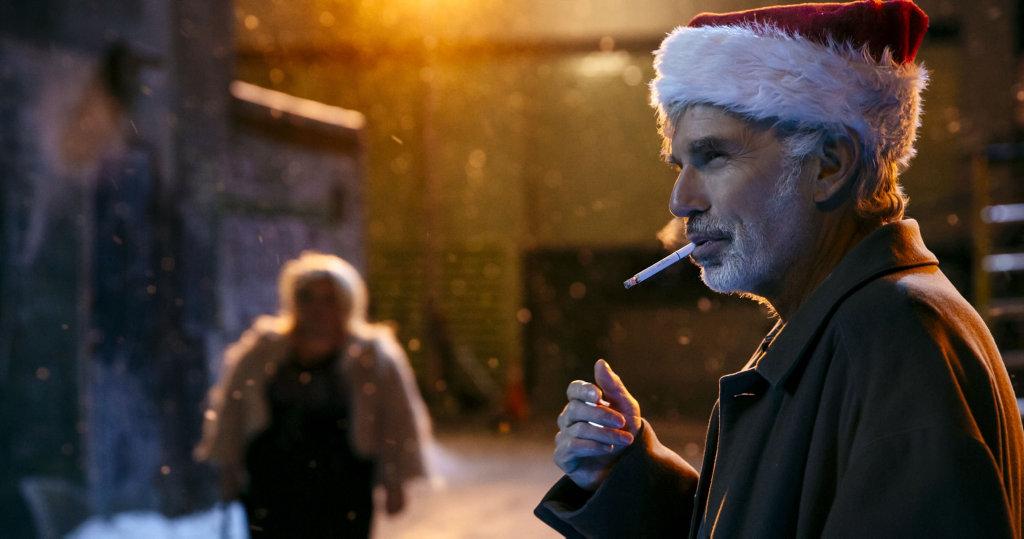 Billy Bob Thornton in a scene from the movie Bad Santa 2.