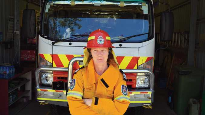 Karen Arthur, Captain of the Tomki RFS brigade, would like to see more women join up as volunteers.
