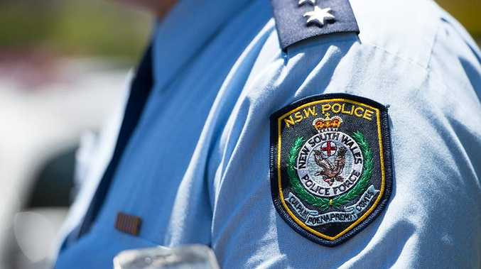 Police found ice after they pulled over a driver, whose car had no numberplates.