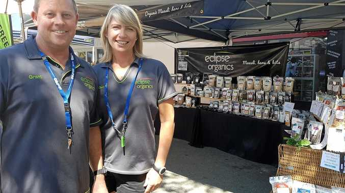 Grant and Deb Monaghan, of Eclipse Organics.