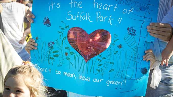 HEARTFELT: A message to state education minister Adrian Piccoli and Premier Mike Baird from Suffolk Park youngsters.