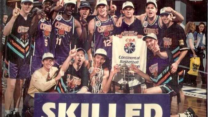 BLAST FROM PAST: The 1997 CBA-winning Clippers side.
