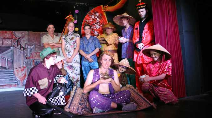 Criterion Theatre's Aladdin cast.