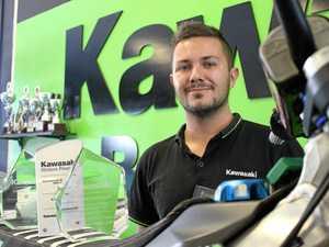 Mackay motorbike racer, dealer thriving