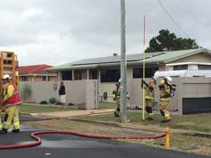 UPDATE: Firies praise passers-by for putting out house fire