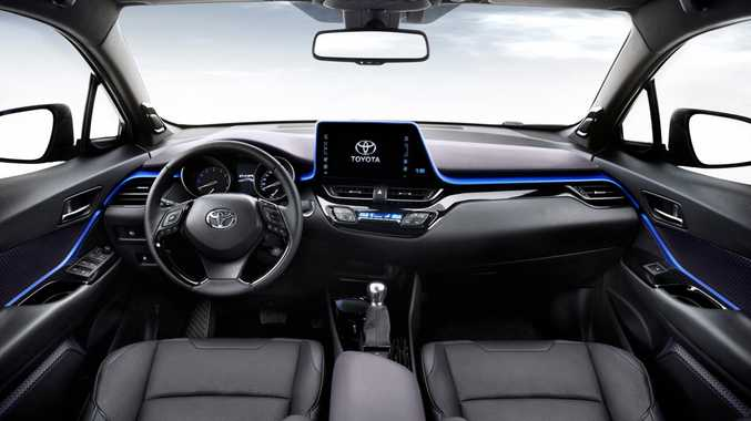 Toyota C-HR small SUV. Photo: Contributed