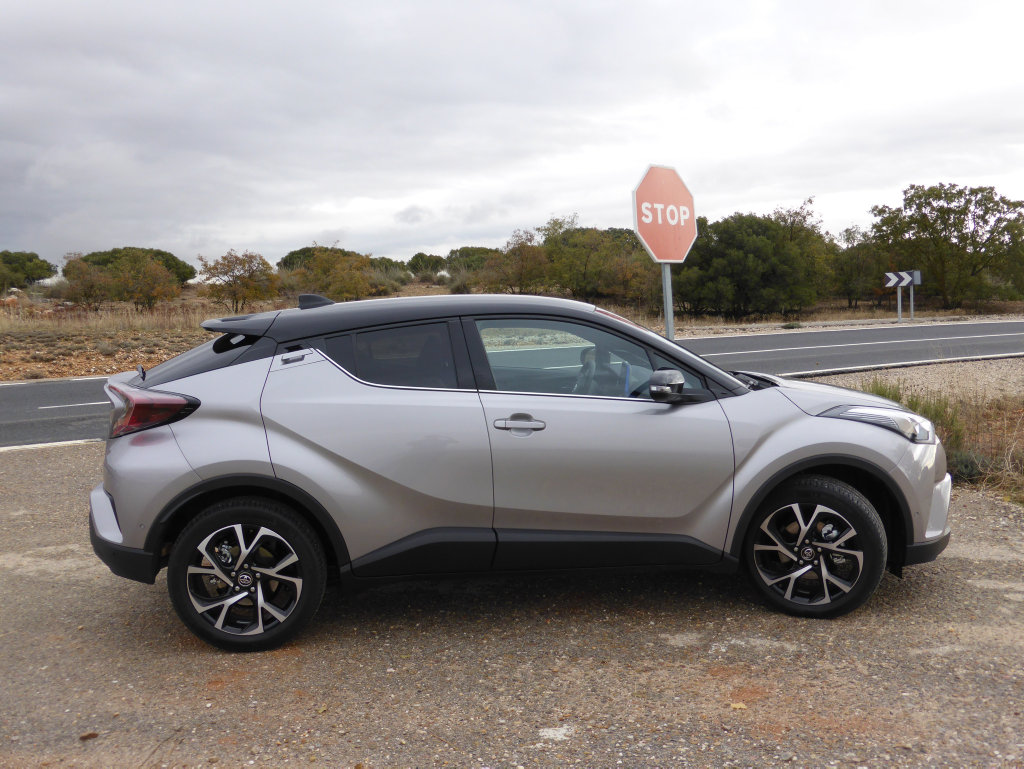 2017 Toyota C-HR on location in Madrid, Spain