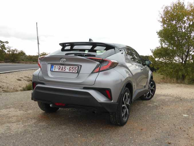 2017 Toyota C-HR pictured in Spain on its European launch