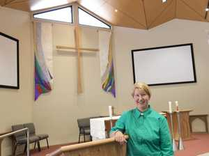 Community effort builds church dream