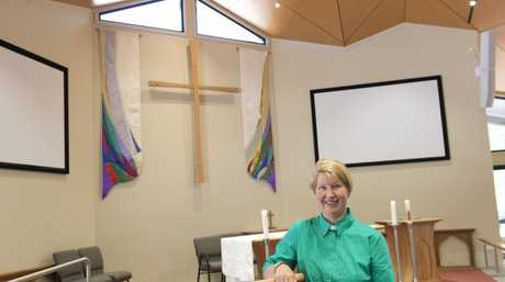 Rev Stephanie Patching of St Anne's Anglican Church at Highfields is proud of the community involvement in building their new church.