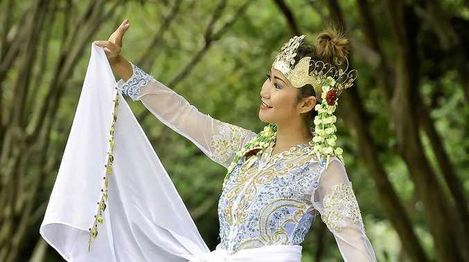 The Nimbin event is presented by non-profit Gold Coast-based Indonesian dance troupe Seharum Nusantara.