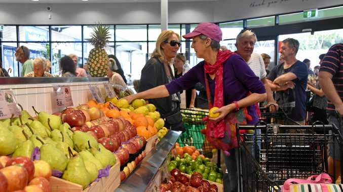 White's Peregian IGA is hoping to go plastic bag free.