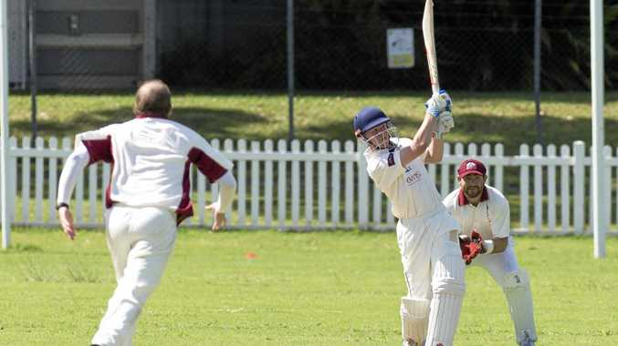 SHOWING MATURITY: Teenager Lachlan Prince's selection to the Queensland under 19's comes after playing in the Toowoomba a-grade one-day competition.