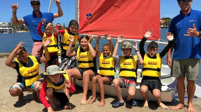School holiday sailing fun is in store with Sunshine Sailing Australia.