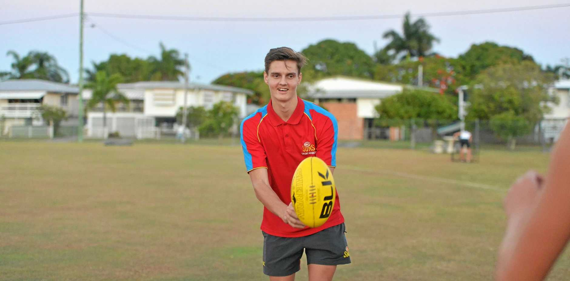 Eastern Swans junior Harry Arnold is aiming to have a consistent, injury-free year to make it into the Gold Coast Suns' draft.