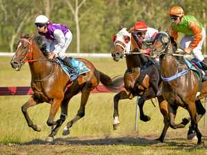 Boxing Day track-side action in Calliope