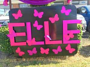 Remembering Elle with butterflies and colour