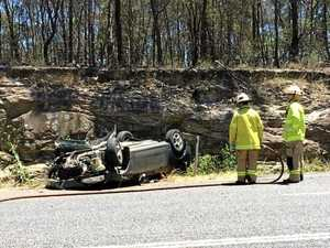 """""""Driver lucky to be alive,"""" say police after Warwick crash"""