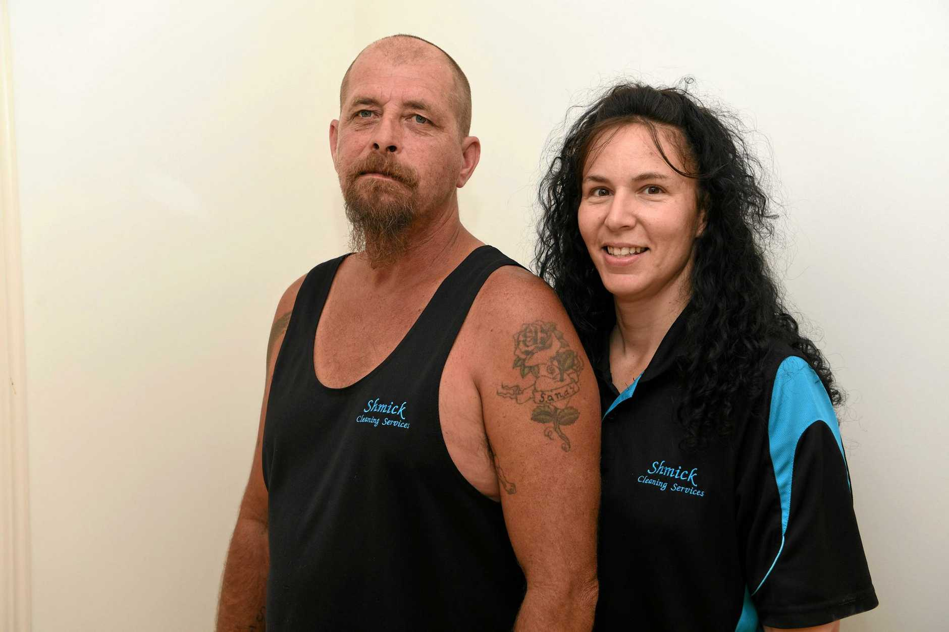 LOCAL CLEANERS: Sandra and Mick Herbert are Facebook Favourites for cleaning in the Bundaberg Region.
