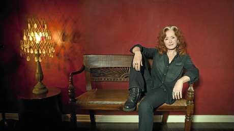 Weekend  chats with blues legend Bonnie Raitt.